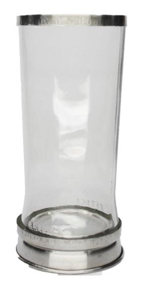 Cj Pta Vela 7 Dias + Porta Vela Fino Transparente Castiçal