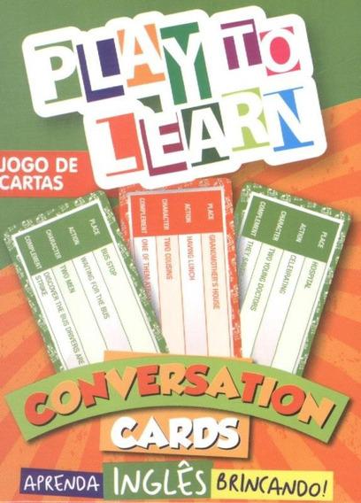 Play To Learn - Jogo De Cartas - Conversation Cards