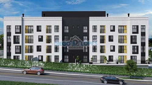 Apartamento Novo Em Centro - Araucária, Pr - 1088
