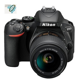 Nikon D5600 24.2mp Wi-fi, Lente Af-p 18-55mm Vr