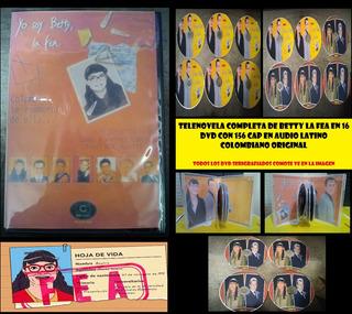 Betty La Fea Telenovela Completa En Latino Para Dvd