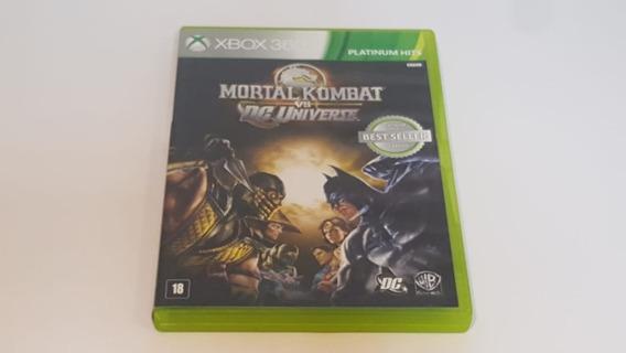 Mortal Kombat Vs Dc Universe - Xbox360 - Original - Física