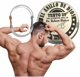 Testo Up Anillo De Dios Dr. Blakoe Aumenta La Masa Muscular