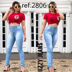 Calças Jeans Feminina Cintura Alta Atacado Baratas