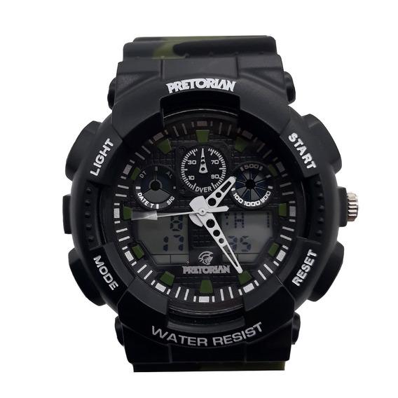 Relógio Pretorian Command Black Military Green ( Wprt-02-2)