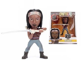 Figuras Metal Die Cast The Walking Dead Michonne 11 Cms