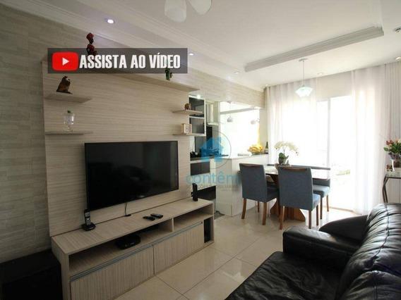 Ap1500- Apartamento Com 2 Dormitórios À Venda, 56 M² Por R$ 330.000 - Vila Quitaúna - Osasco/sp - Ap1500