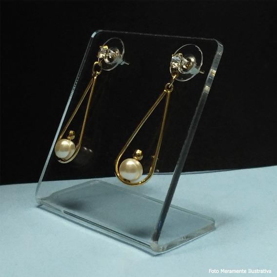 Display Expositor De Brincos Em Acrilico Cristal 50 Und