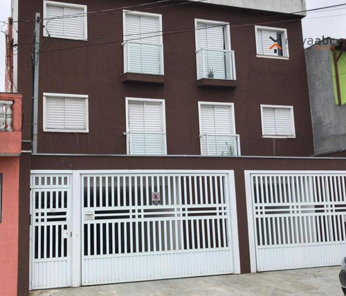 Apartamento Com 2 Dormitórios Para Alugar, 40 M² Por R$ 1.250/mês - Jardim Alzira Franco - Santo André/sp - Ap1694