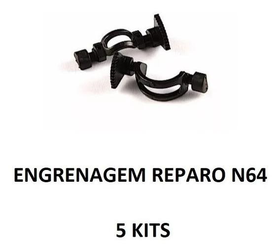 Kit Reparo Analógico Original N64 - 5 Unidades Nintendo 64