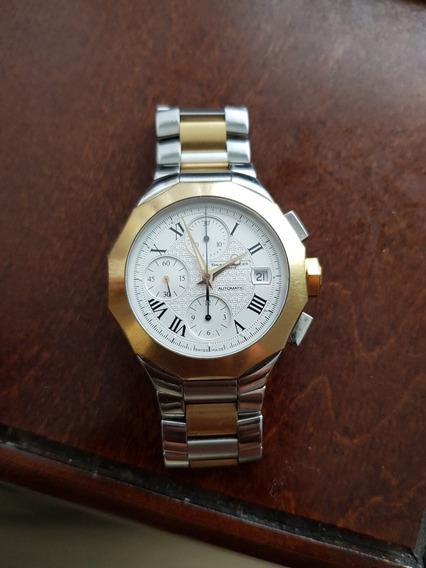 Reloj Baume & Mercier Modelo Riviera Acero Oro 18k Automatic