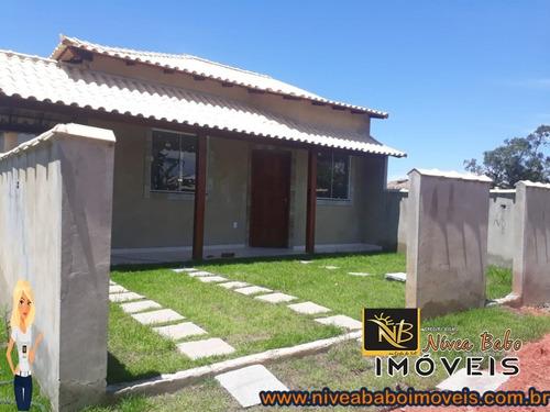Imagem 1 de 11 de Casa Em Unamar Cabo Frio Casa Super Linda Em Unamar Cabo Frio Região Dos Lagos - Vcac 360 - 69325595