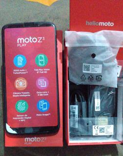 Celular Moto Z3 Play (novo)