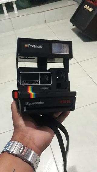 Polaroid Supercolor 635 Cl Câmera Fotográfica Antiga E Rara