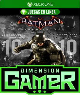Batman Arkham Knight - Xbox One - N Codigo
