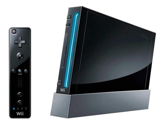 Nintendo Wii 512MB Standard preto
