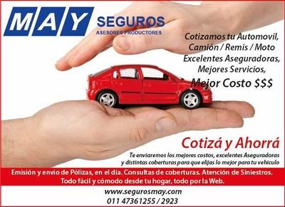 Seguro Automotor - Costos Low Cost - Garantizado