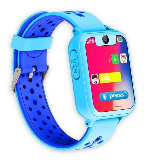 Relógio Celular Infantil Localizador Gps Com Câmera