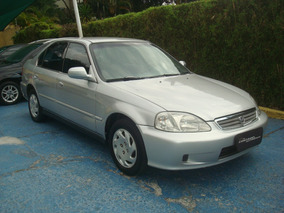 Great Honda Civic 1.7 Lx Aut. 4p Ano 2002