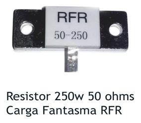 Kit 3 Resistor Dummy Carga Fantasma Rfr 50 Ohms 250w 50-250