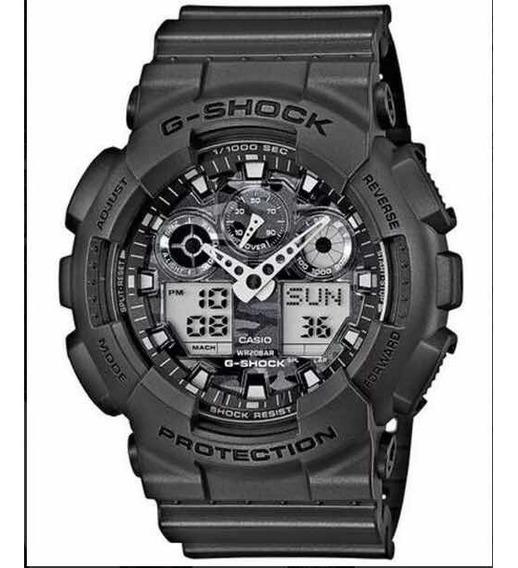 Relógio G-shock Camuflado-100cf (5081)- Novo