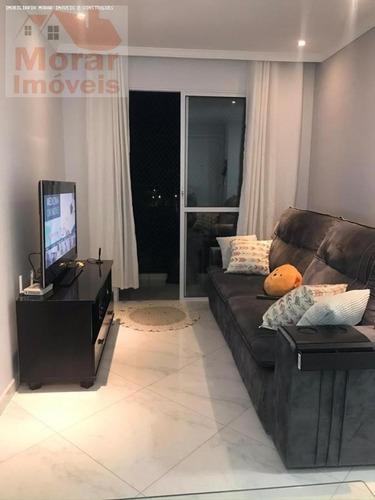 Imagem 1 de 7 de Apartamento Para Venda Em Santana De Parnaíba, Recanto Silvestre (fazendinha), 2 Dormitórios, 1 Banheiro, 1 Vaga - Fly02_2-1181959