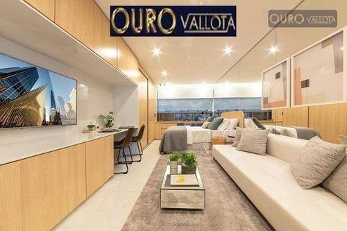 Studio Com 1 Dormitório À Venda, 27 M² Por R$ 354.000,00 - Mirandópolis - São Paulo/sp - St0015