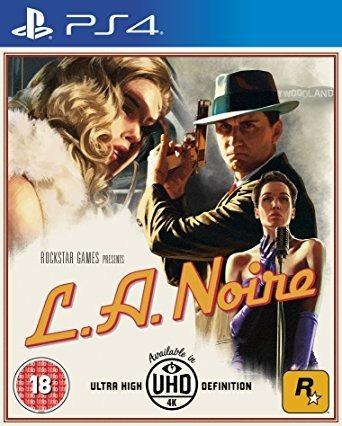L. A. Noire (ps4) Lacrado / Midia Física