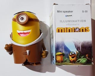 Parlante Minions Bluetooth Mp3 Usb Radio Fm Ranura Micro Sd