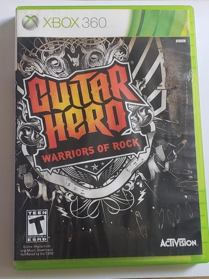Guitar Hero - Warriors Of Rock Xbox 360