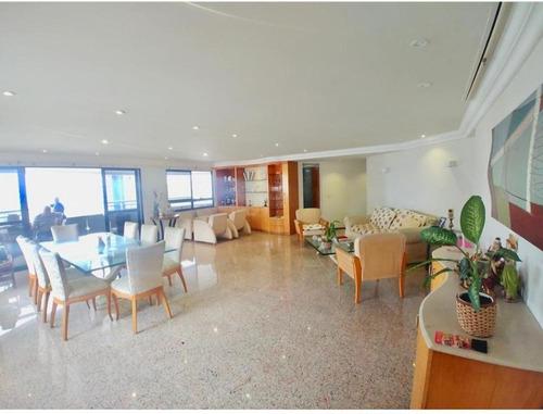 Apartamento Com 3 Dormitórios À Venda, 241 M² Por R$ 1.250.000,00 - Meireles - Fortaleza/ce - Ap1725