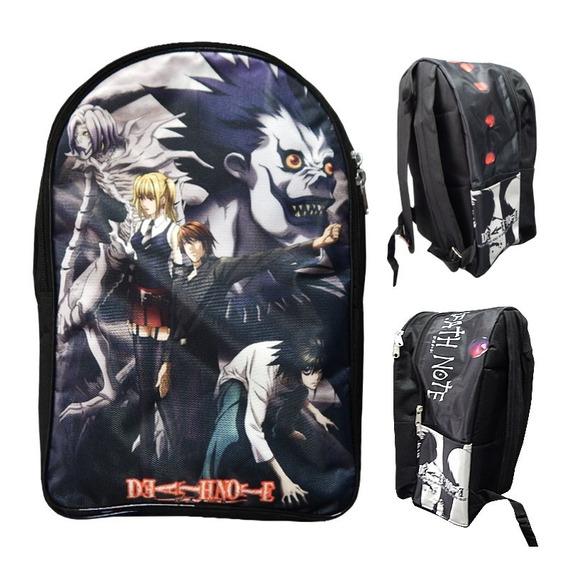 Death Note Mochila Backpack Kigurumis L Kira Misa Ren