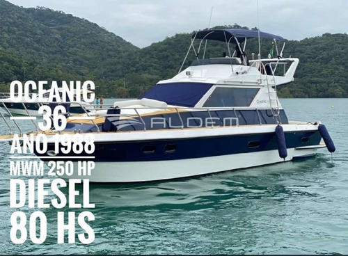 Lancha Oceanic 36 Pes Diesel