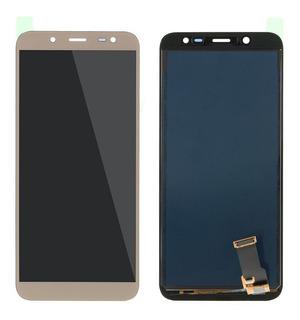 Display Lcd Galaxy J6 2018 J600 Visor Tela Touch+ Reg Brilho + Cola
