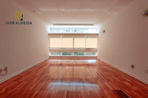 Apartamento Com 3 Dormitórios, 164 M² - Venda Por R$ 2.150.000,00 Ou Aluguel Por R$ 6.000,00/mês - Higienópolis - São Paulo/sp - Ap47737