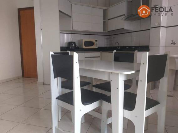 Apartamento Com 1 Dormitório Para Alugar, 41 M² Por R$ 980,00/mês - Jardim Santa Rosa - Nova Odessa/sp - Ap0385