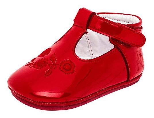 Zapato Bebe Niña 75944 Ensueño Rojo