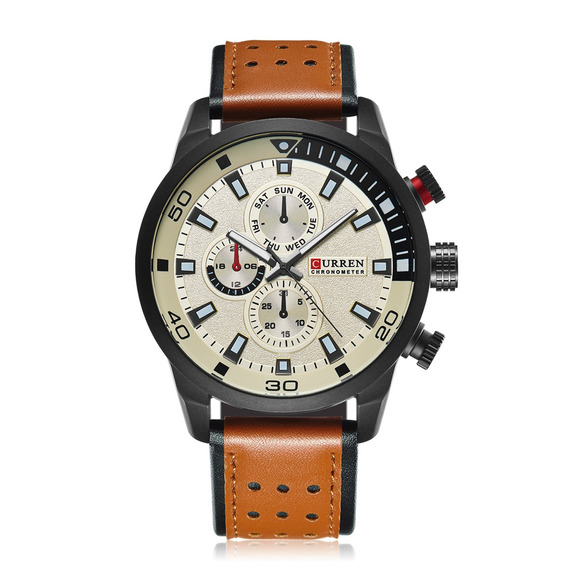 Relógio Curren 8250 Masculino Esportivo Promoção Barato