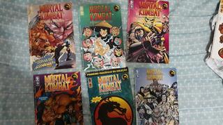 Revista Games Coleção Completa Mortal Kombat Sangue E Trovão