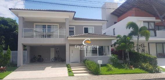 Casa Com 4 Dormitórios À Venda, 400 M² Por R$ 1.750.000,00 - Portal Do Sol - João Pessoa/pb - Ca0153