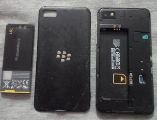 Blackberry Z10, Para Repuesto. Placa Dañada. 15$