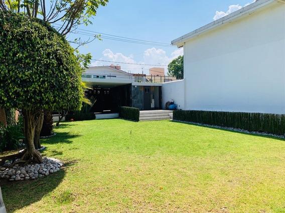 Casa Con Gran Jardín En Venta En San Jerónimo Lídice, Magdalena Contreras Cdmx