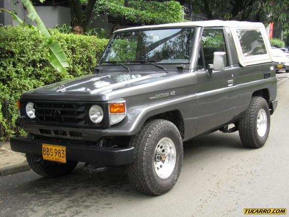 Toyota Land Cruiser Carevaca 4000 Cc Mt Carburador