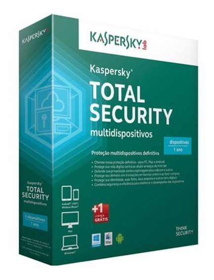 Kaspersky Total Security - Multidispositivos - 5 Dispositiv