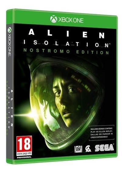 Alien: Isolation Xbox One Mídia Física Novo Lacrado Original