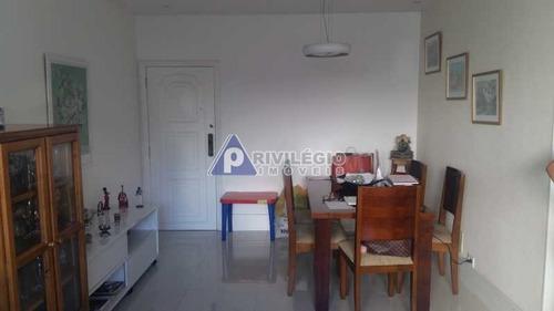 Imagem 1 de 19 de Apartamento À Venda, 2 Quartos, 1 Suíte, 2 Vagas, Leme - Rio De Janeiro/rj - 3683