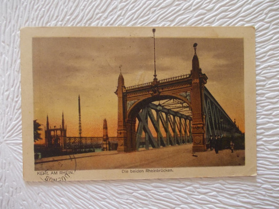 6530- Antigua Postal Alemania Kehl Am Rhein1922 Estampillas
