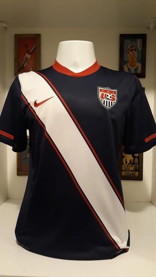 Camisa Seleção Estados Unidos Nike Azul Marinho