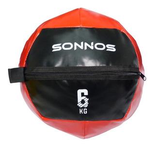 Medicine Ball Simil Dynamax 6 Kg Crossfit Funcional Sonnos