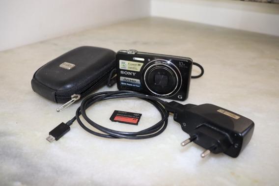Câmera Digital Sony Cyber-shot Dsc-wx100 Completa